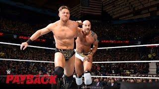 Cesaro vs. The Miz - Intercontinental Title Match: WWE Payback 2016 on WWE Network