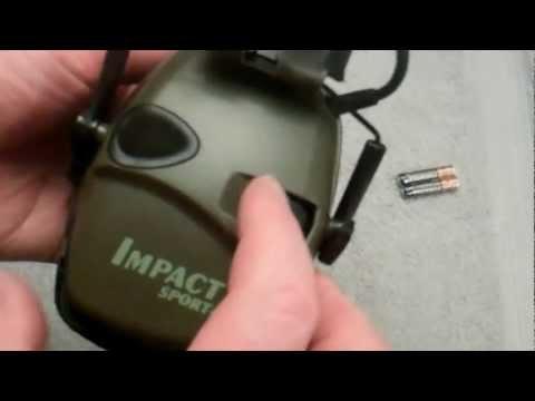 Howard Leight Impact Sport electronic earmuffs