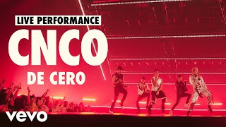 CNCO - De Cero (Live)   Vevo LIFT Live Sessions