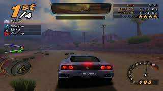 Need for Speed: Hot Pursuit 2, 8 Laps Outback II - Ferrari 360 Challenge