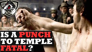 Can a Single Punch to the Temple Kill You?