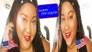 GET READY WITH ME 4TH OF JULY FOUNDATION ROUTINE | Be Breezy