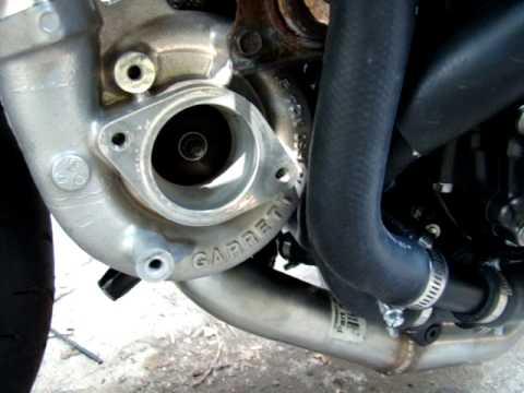Starting up 08 CBR1000RR turbo