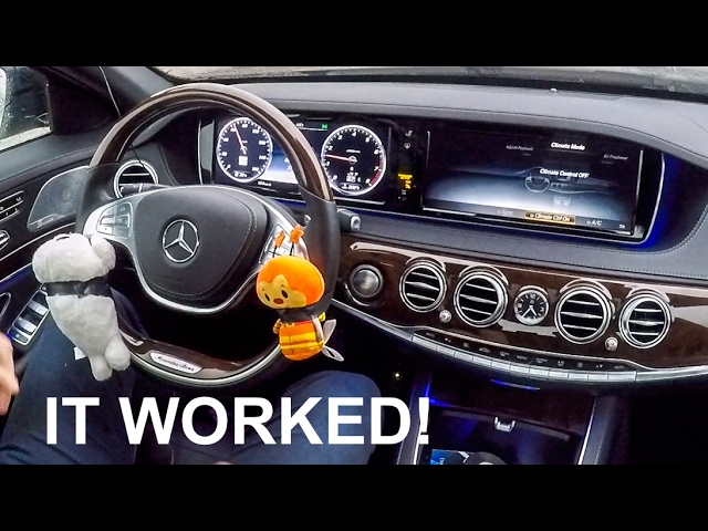 Awesome Car Life Hack -  Now My Mercedes Can Drive Itself Forever!