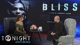 "TWBA: Iza on her film ""Bliss"""