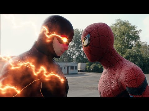 Xxx Mp4 Spider Man Homecoming Spider Man Vs The Flash FIGHT SCENE Marvel Vs DC 2017 Civil War 3gp Sex