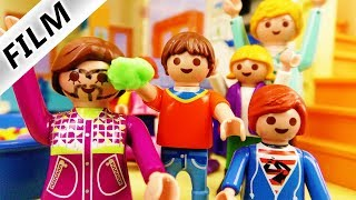 Playmobil Film Deutsch - KULTURSCHOCK IN KITA! ERZIEHERIN SCHLÄFT = CHAOS! Kinderserie Familie Vogel