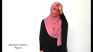 Tutorial Shawl Raya #01 - Laurel Exclusive By AmalinaAmmar