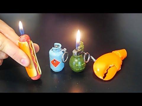 Xxx Mp4 10 Weirdest Lighters Ever Made Part 3 3gp Sex