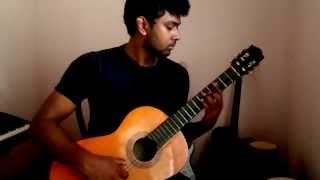 Chandrayan Pidu fingerstyle guitar cover