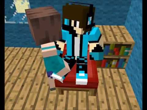 Minecraft animation - Ender love story 2