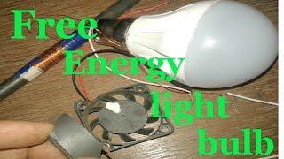 New Free Energy Magnet Motor ; Free Energy Generator  for Light bulb