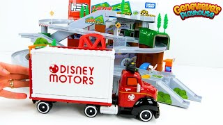 Best Toddler Learning Video for Kids Learn Colors for Preschoolers with Toy Cars Tomica Playset Fun!
