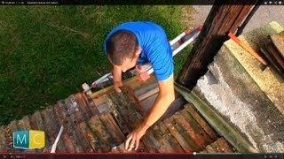 Réparation toiture, toit maison