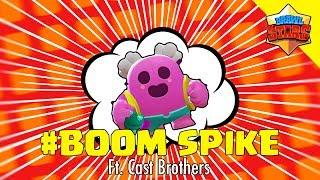 PINKY SPIKE GUARANTEED STAR PLAYER! #BOOM Ft. Cast Brothers - Brawl Stars