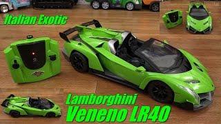 RC Toy Cars for Kids: Lamborghini Veneno LR40 Remote Control Toy Unboxing w/ Maya