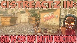 GTA VS COD RAP BATTLE REACTION | WHO IS THE BEST!?!?