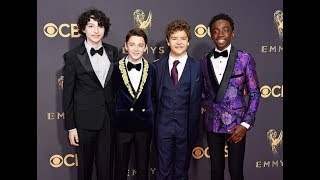 Stranger Things cast at the Emmys 2017