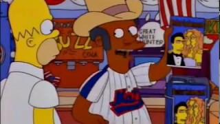Apu el Americano - Los Simpson