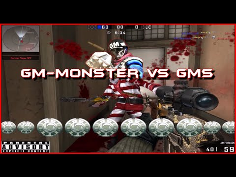 DIABO Blackshot GM Wars 4 GM Monster vs GMs