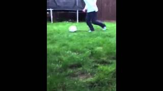 Chantel G football skills 4