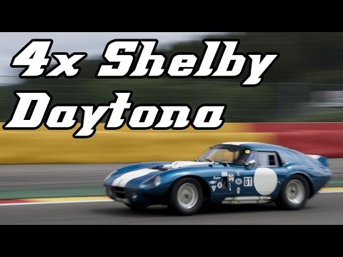 4x Shelby Cobra Daytona coupe (Spa 2015)