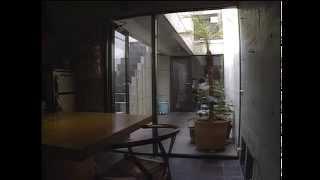 住吉の長屋 安藤忠雄  Row House in Sumiyoshi  Ando Tadao