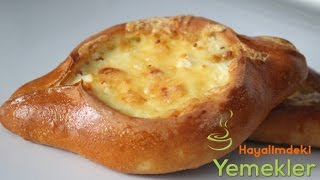 Peynirli Mini Pide Tarifi