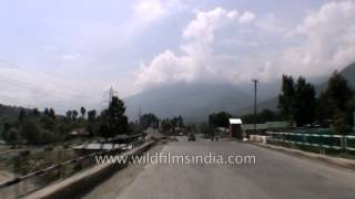 Driving from Sonamarg to Srinagar - Part 1