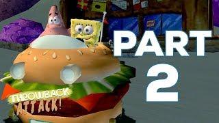 The Spongebob Squarepants Movie Game Part 2 | KRABBY PATTY MOBILE (Throwback Attack)