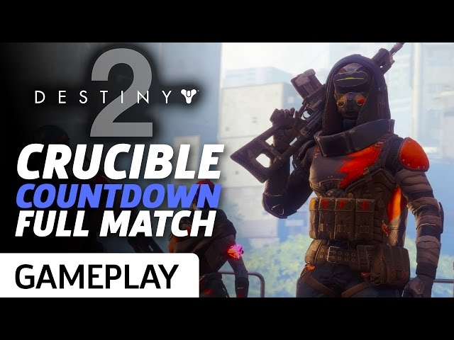 Full Crucible Countdown Match From Destiny 2