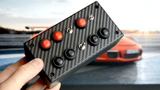 BUTTON BOX | EASY  DIY | SIM RACING