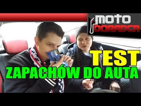 TEST zapachów do samochodu MOTODORADCA
