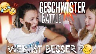 Geschwister Battle - WER IST BESSER ? - #BEEcember2 ❄ | Dagi Bee
