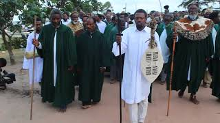 Shembe funeral clip