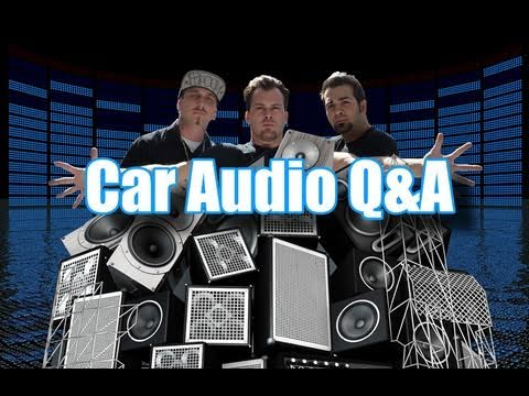 Car Audio Q&A 16,