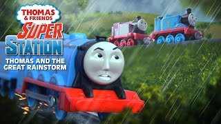 Thomas & Friends: Super Station #4 | Thomas and the Great Flood #1 |Stormy Weather |Thomas & Friends