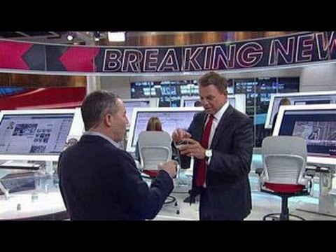 Greg Gutfeld crashes the Fox News Deck