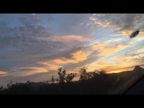 12/7/16 MUST WATCH! Glowing cylinder cloud randomly in sky! Never seen this before!