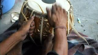 Drum making, Rishikesh