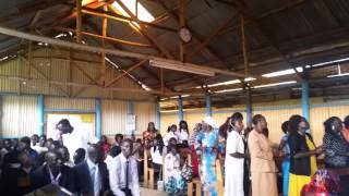 Mabaan choirs in Nairobi during the Christmas celebration