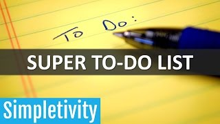 How to Unlock Your To-Do List for Super Productivity