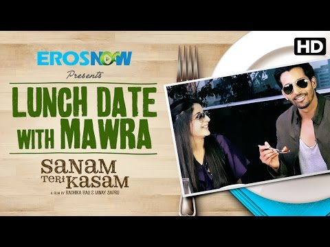 Lunch date with Mawra Hocane! Sanam Teri Kasam