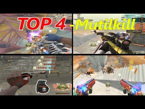 TOP 4 Những Pha MutiKIll Của Rùa Ngáo Trong Zombie Escape CF