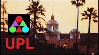 Hotel California Eagles Lyrics subtitles UPL