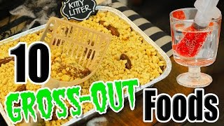 10 DIY Halloween Gross-Out Food Ideas with Kalium   Kamri Noel