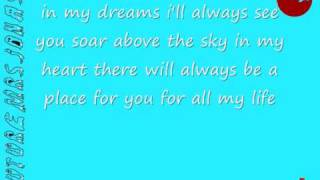 faith hill - there you'll be lyrics