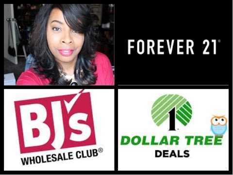 FAB Picks!! Mini Beauty Spree | FOREVER 21, BJ's & Dollar Tree/Deals Store!