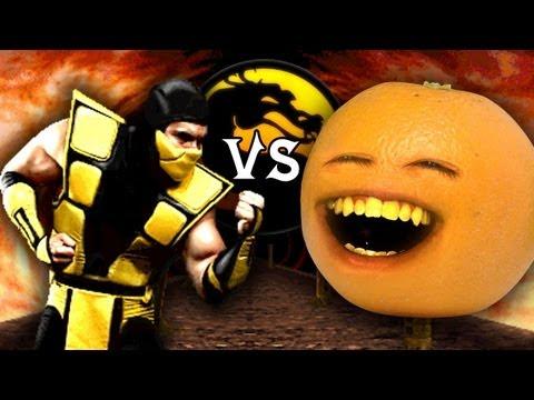 Annoying Orange vs. Mortal Kombat