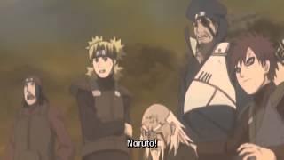 Naruto Giant Rasengan Barrage vs Madara Uchiha